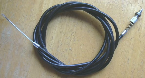 Cut To Fit Throttle Cable : Villiers and allen scythe parts villiersparts